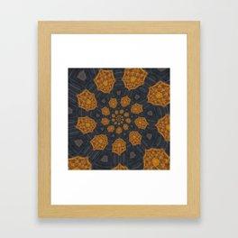 Round and Round 2 Framed Art Print