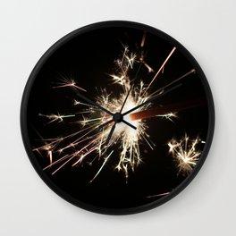 Spark In The Dark Wall Clock