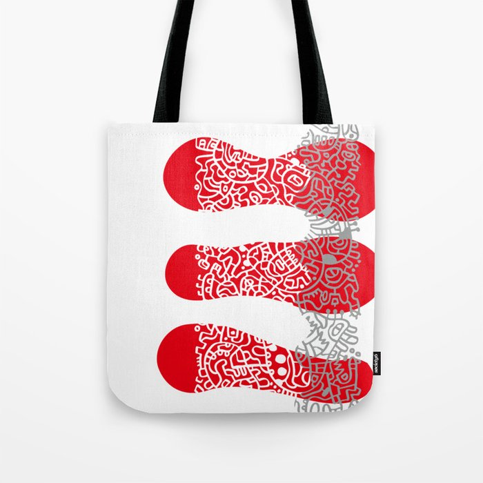 Fire Cell Tote Bag