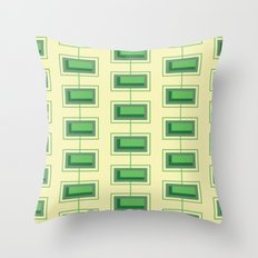 Stacked Rectangles Throw Pillow