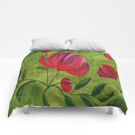 Flores 1 Comforters