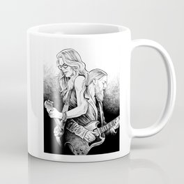 Dueling Trucks Coffee Mug