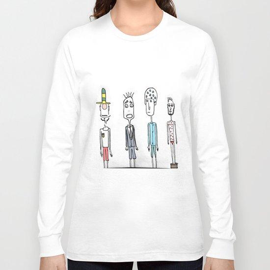 Four friends Long Sleeve T-shirt