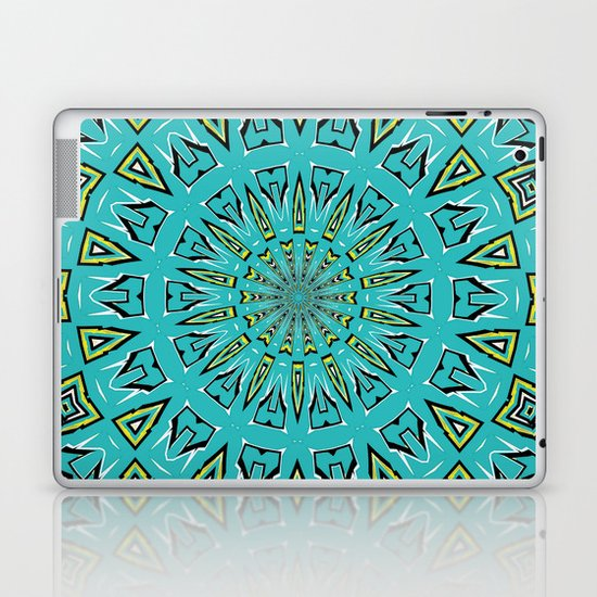 Blue Radiant Sun... Laptop & iPad Skin