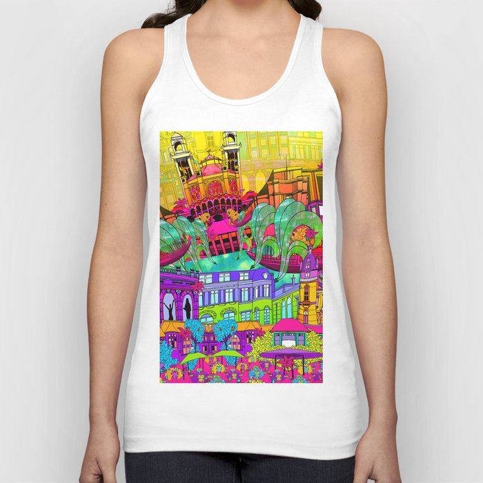 I Heart Paris Unisex Tank Top