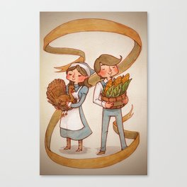Turkey Day Canvas Print