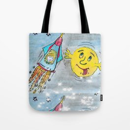 Harry and the Bedship: A Trip to Mars Tote Bag