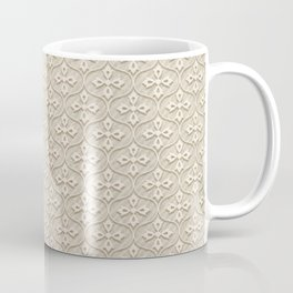 Blond Trellis Coffee Mug