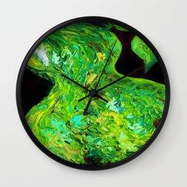 ABTRACT PEAR Wall Clock