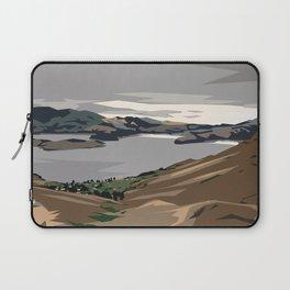 Cass Bay, New Zealand Laptop Sleeve