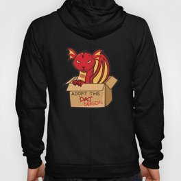 Adopt This Dragon Fire Hoody
