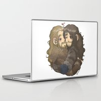hug Laptop & iPad Skins featuring Hug by ScottyTheCat