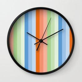 Arizona Stripes Wall Clock