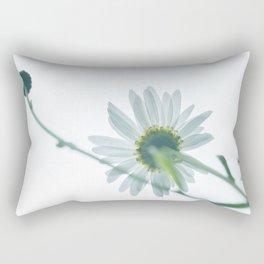 Green Daisies - Take 1 Rectangular Pillow