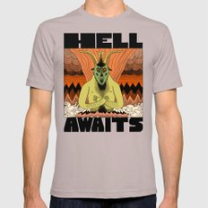 Hell Awaits Cinder MEDIUM Mens Fitted Tee