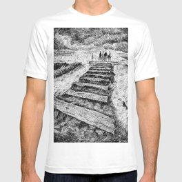 Drawing Black ink - Storm T-shirt