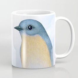 eastern bluebird portraits Coffee Mug