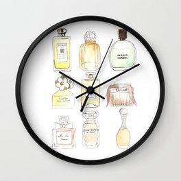 Parfums Wall Clock