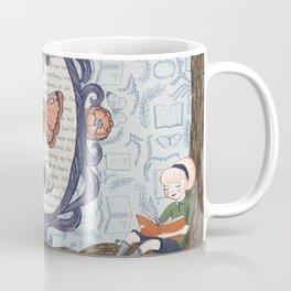 Book Butterfly Coffee Mug