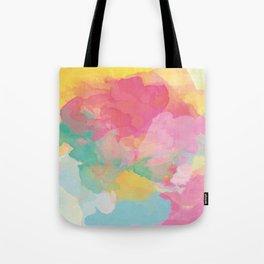 RAINBOW SPLATTER LAYERS Tote Bag