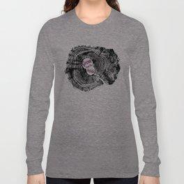 Motivational tree ring art print Long Sleeve T-shirt