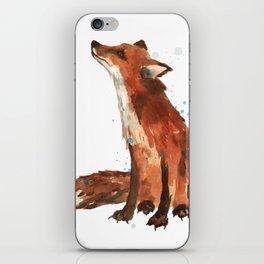 Mindful Fox iPhone Skin