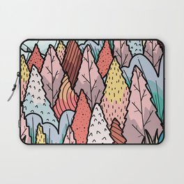 The hill behind a forest Laptop Sleeve
