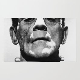 Frankenstein's Monster - Classic Horror Movies Rug