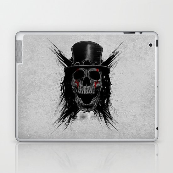 Skull Hat Laptop & iPad Skin
