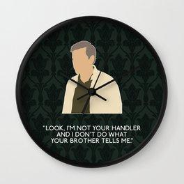 The Hounds of Baskerville - Greg Lestrade Wall Clock
