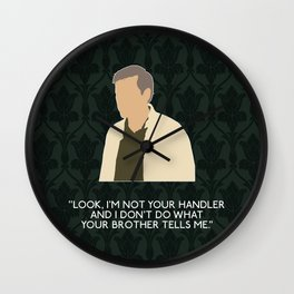 The Hounds of Baskerville - Greg Lestrade Wall Clock