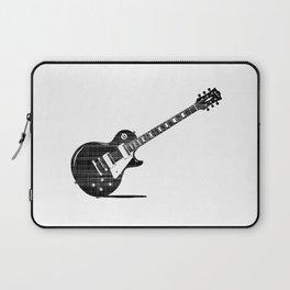 Black Guitar Laptop Sleeve