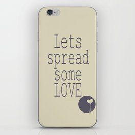 Spread Some LOVE iPhone Skin