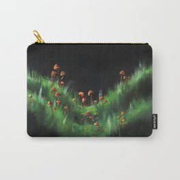 Meadow with Mushrooms and Moss: The Nude Carry-All Pouch
