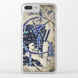 Wild Wild World West West Clear iPhone Case
