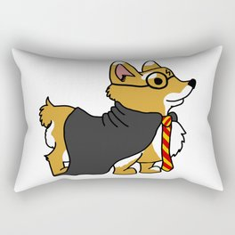 Corgi Potterju Rectangular Pillow