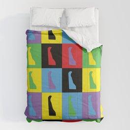 Delaware Pop Art Comforters