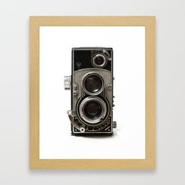 Vintage Camera 01 Framed Art Print