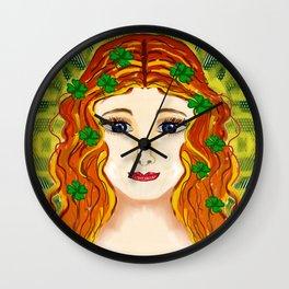 Lady Luck Wall Clock