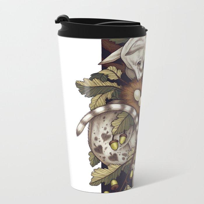 Spades Metal Travel Mug