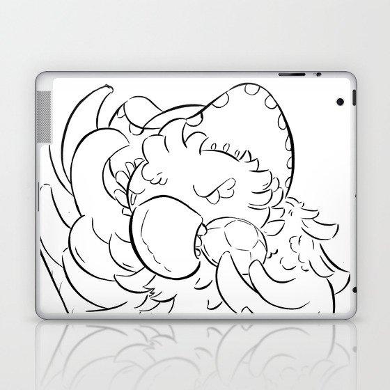 Pirate Parrot - ink Laptop & iPad Skin