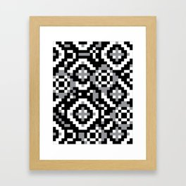 """Modular Analysis """"Rings, Rings, Rings"""" Framed Art Print"""