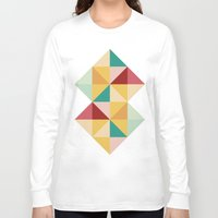 candy Long Sleeve T-shirts featuring Candy by According to Panda