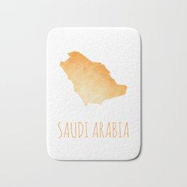 Saudi Arabia Bath Mat