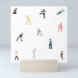 JK Concept Pattern Mini Art Print