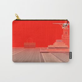 Squared: One Sided Transparency Carry-All Pouch