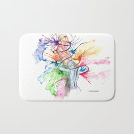 CONFESSION I @EdART Bath Mat