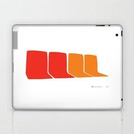 4 Seats on the 1 Laptop & iPad Skin