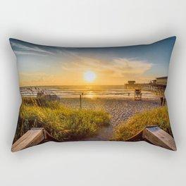 Sunrise at Cocoa Beach Rectangular Pillow