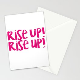 Rise Up (Hamilton Series) Stationery Cards
